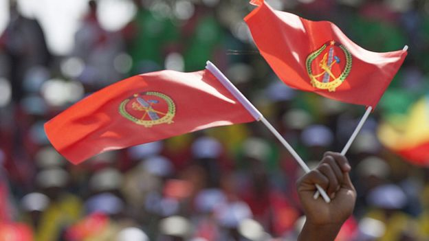 The ruling EPRDF coalition has been in power since 1991 and brooks little dissent