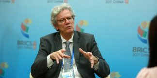 Paulo Nogueira Batista, Vice President of the New Development Bank. Photo by Xie Jinlin