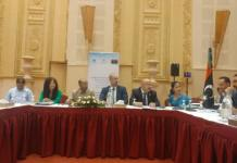 IOM Libya convened a migrant health policy round table attended by Libyan authorities, UN and other partners on 15 August 2017. Photo: UN Migration Agency 2017