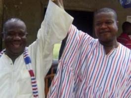 D.D. Dzorkpe in White shirt with muffler