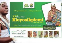 Kloyosikplimi Festival launched