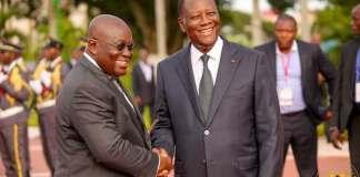 Politics Visit Ouattara