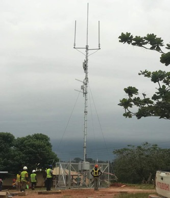 Rural BTS SitRural BTS Site deployed at Banka in the Ashanti Regione deployed at Banka in the Ashanti Region