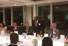HE Papa Owusu-Ankomah addressing the CEOs