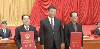 Hou Yunde and Wang Zeshan