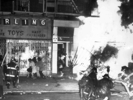 New York rebellion after the assassination of Dr. Martin Luther King, Jr.
