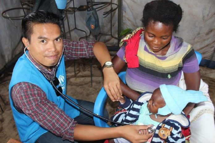 Refugees and host communities have access to medical and other services in Mantapala settlement