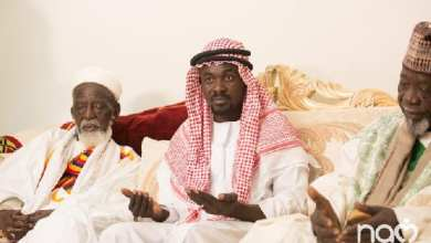 Nana Appiah Mensah and Chief Imam