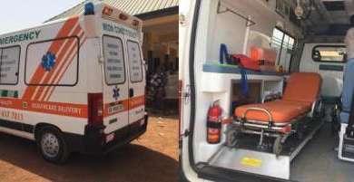 mion mp donation ambulance