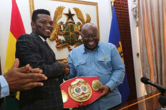 Commey Calls On President