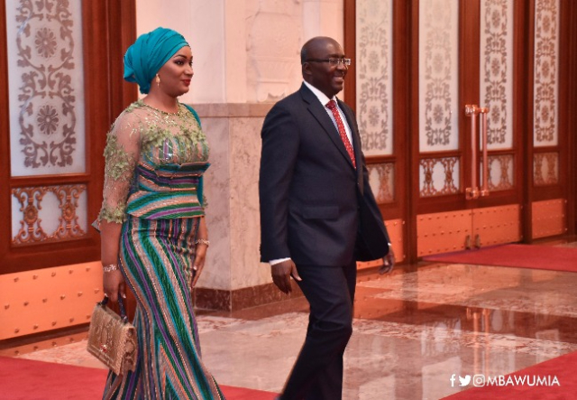 Dr Mahamudu Bawumia and his wife