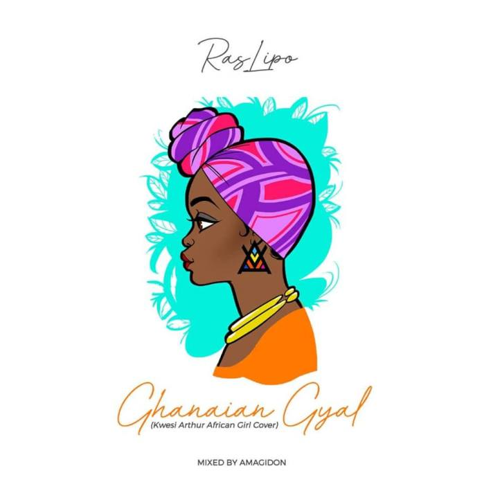 Ras Lipo Ghanaian Girl Artwork