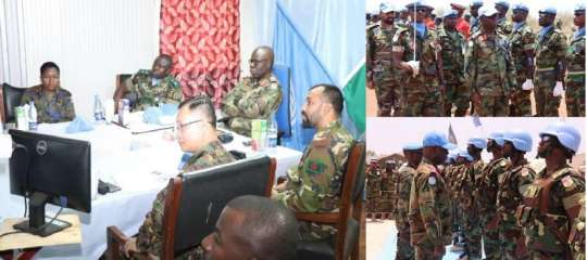 Sector North Commander Calls on Ghana's Battalion in South Sudan