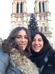 Notre Dame selfie!