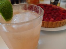 "A ""Paloma"" and a tarte"