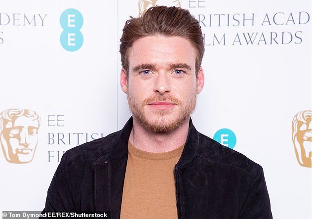 Richard Madden, above, has revealed Bodyguard could return for a second series, as he is meeting the show's creator. The Bodyguard star, 32,joined a jury of industry experts to decide five nominees for the BAFTA EE Rising Star Award