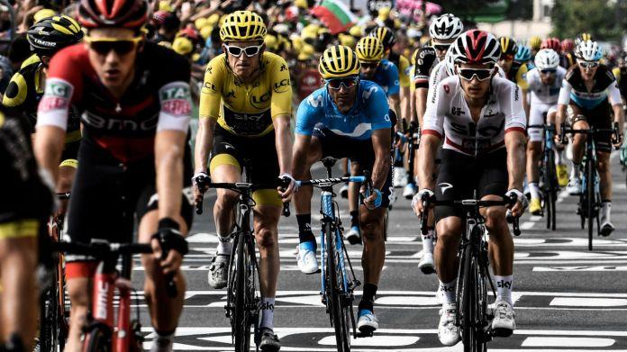 2018 Tour de France Geraint Thomas Team Sky