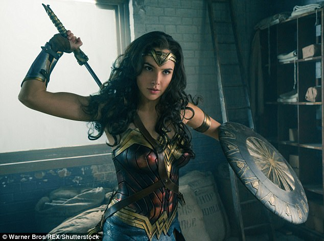 Warrior princess: A glimpse of Patty's upcoming Wonder Woman movie starring Gal Gadot, due June 2