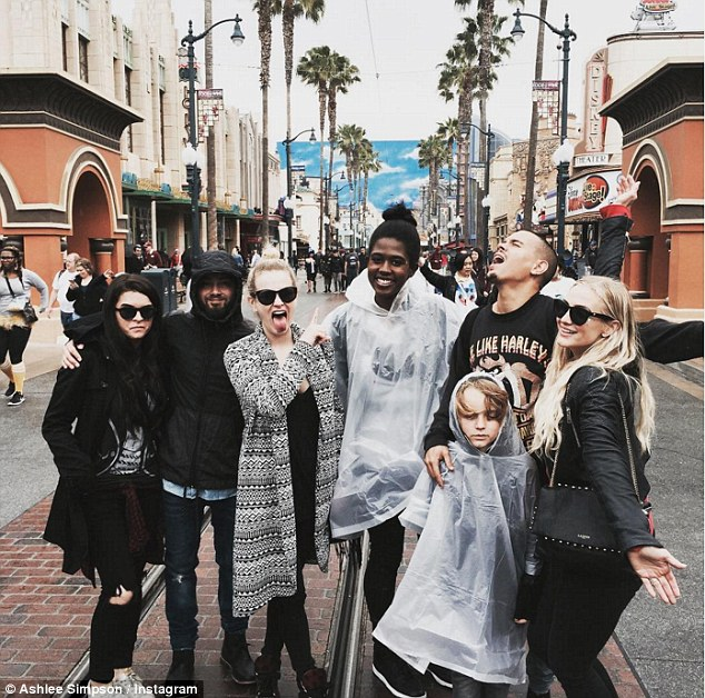 Magical vacation: On April 8, the beauty shared a snap from a family trip to Disneyland