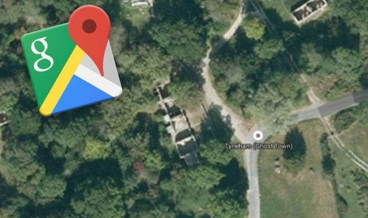 Google Maps Uk Ghost Town Revealed On Street View What Has