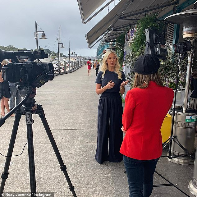'Nothing is off limits!' An insider 'close to production' told SMH this week, Roxy's (pictured) new series is certainly 'underway' and went on to reveal 'nothing is off limits' during filming
