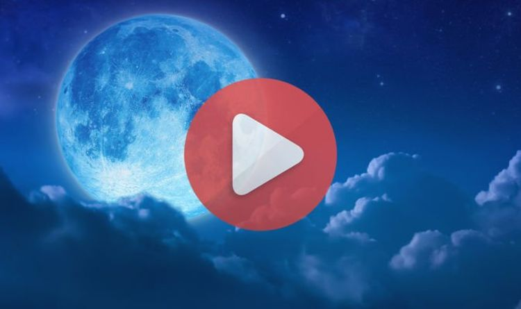 Blue Moon 2019 LIVE stream: Watch the May Flower Moon light up the