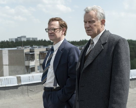 Chernobyl cast next to their real-life characters: The true