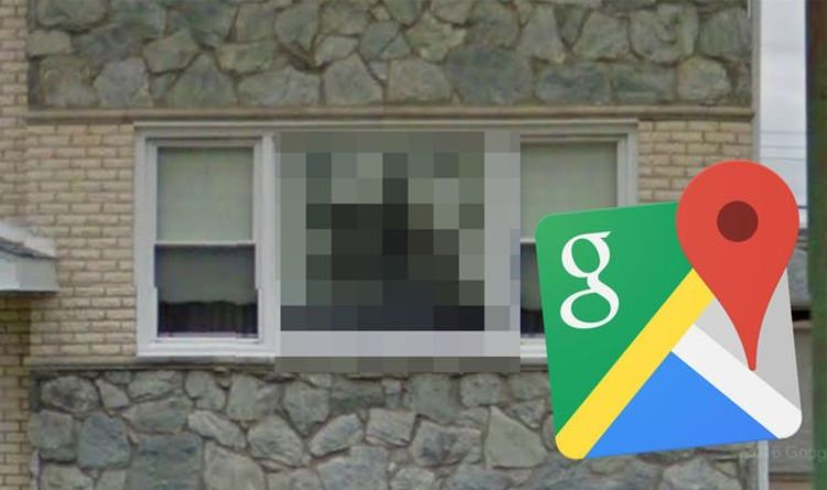 Google Maps Street View Very Creepy Sight Spotted In House Window