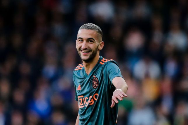 Hakim Ziyech has excelled for Ajax in the Champions League