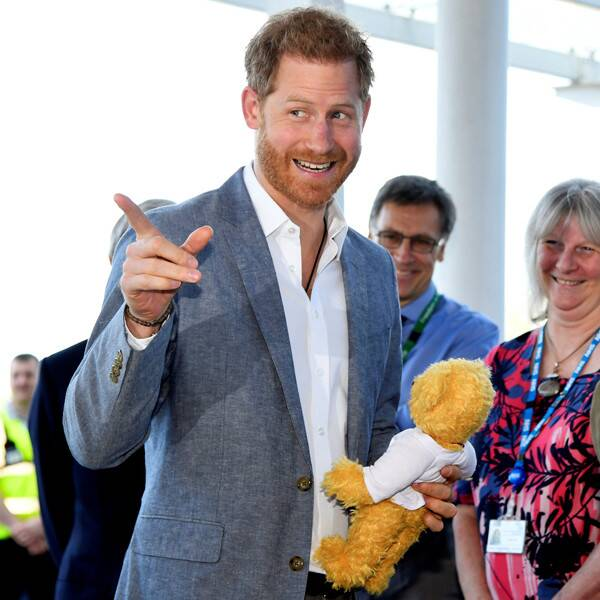 Prince Harry Gushes Over Baby Archie During Children's