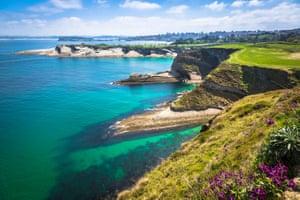 The Cantabrian coast