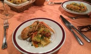Seafood pasta Taverna Rovita