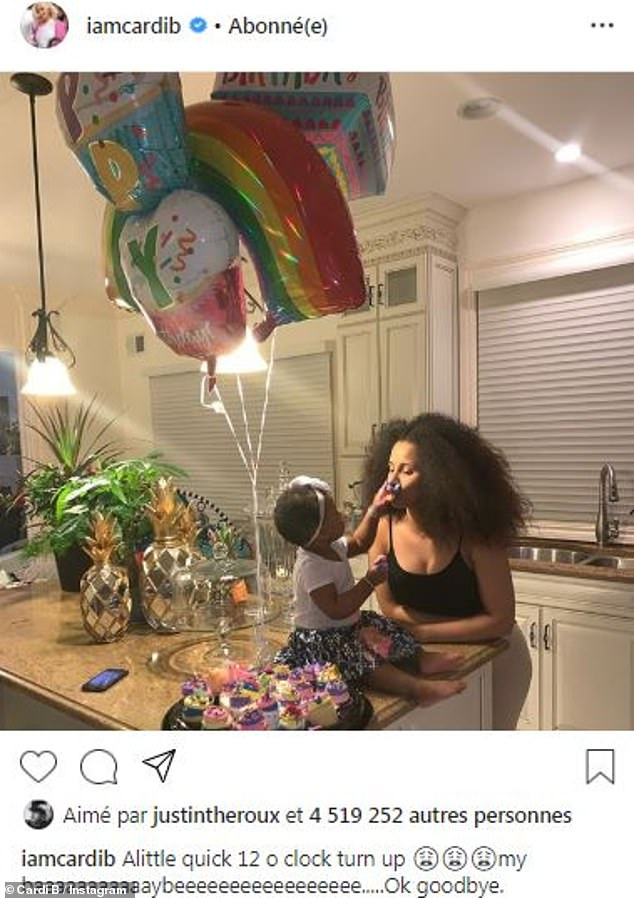 Cardi B and Offset's daughter Kulture turns one and the mom