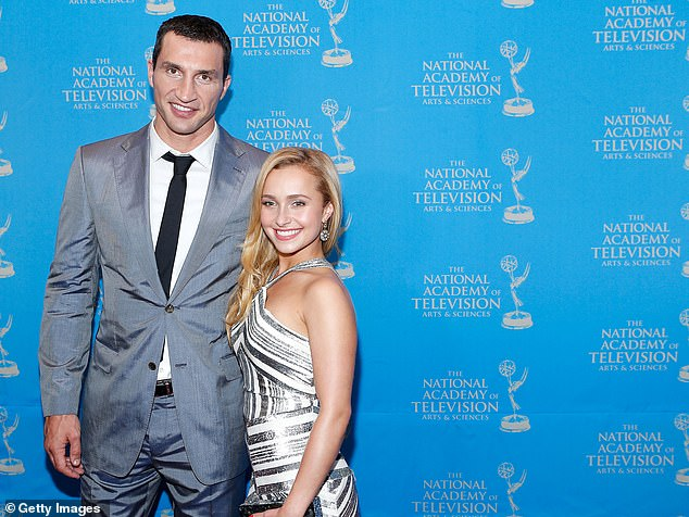 In the past: She split with fiance Wladimir Klitschko in 2018 after nine years of dating and one daughter, Kaya; seen in 2013
