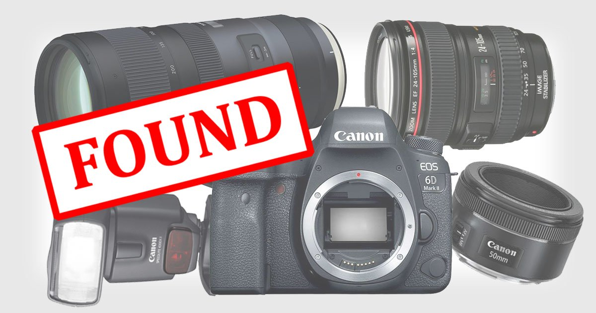 I Found All of My Stolen Camera Gear in the Nearest Pawn