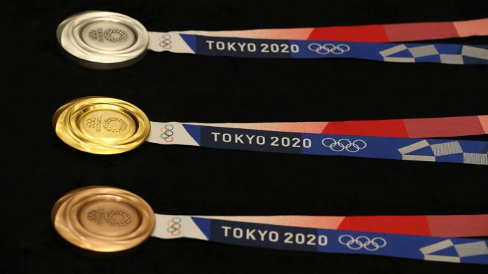 The medals for the Tokyo 2020 Olympic Games have been unveiled