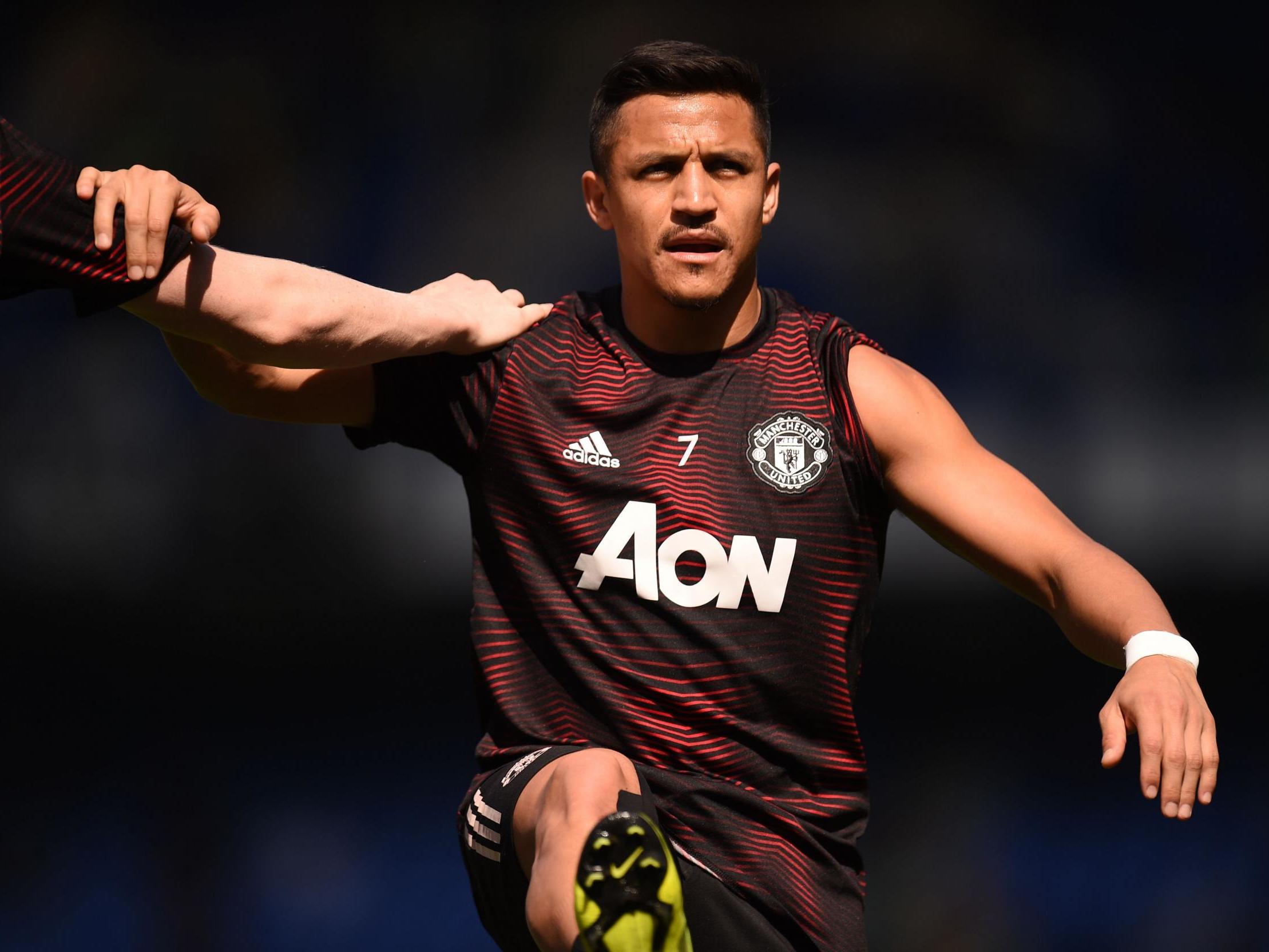 promo code 5cf32 cdea0 Alexis Sanchez: Manchester United forward completes season ...