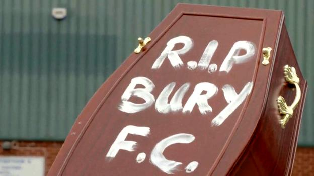 Bury expelled by English Football League after takeover