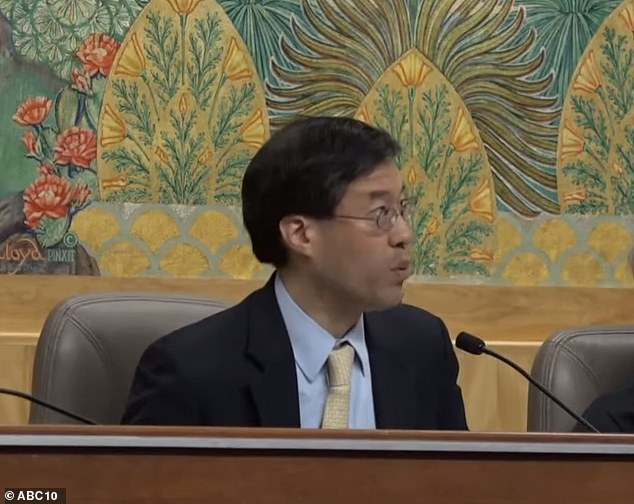 Dr Richard Pan (pictured) co-authored SB276, a proposed California law that would require all medical vaccine exemptions to be approved by state health officials. It goes to a vote Friday