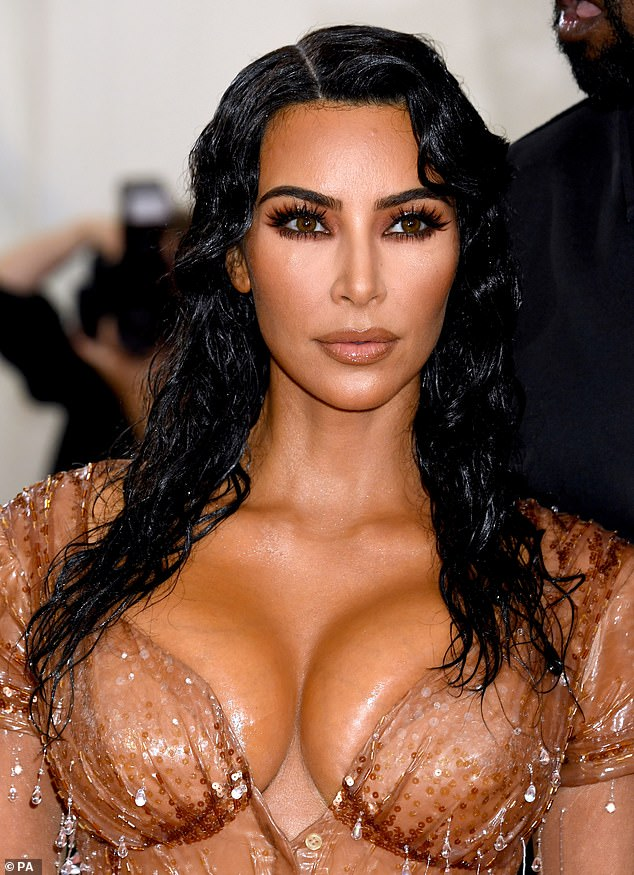 A clinic claims to have seen a 50 per cent spike in the number of British mothers seeking laser vaginal tightening in the past year.In 2016, Khloe Kardashian revealed her sisters - Kim Kardashian West (pictured) and Kourtney Kardashian - had vaginal lasering