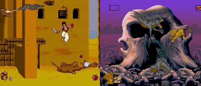 Aladdin and The Lion King Video Games Re-Release