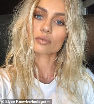 'I might have bad days, but that's okay': Elyse Knowles has revealed how she keeps a 'positive mind frame' when it comes to her skin... after sharing her secret battle with acne