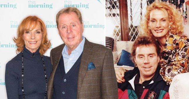 Harry Redknapp and wife Sandra