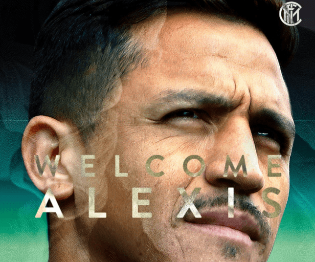 Manchester United have loaned Alexis Sanchez to Inter Milan