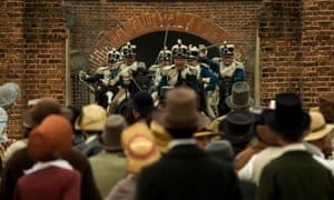A scene from Mike Leigh's Peterloo.