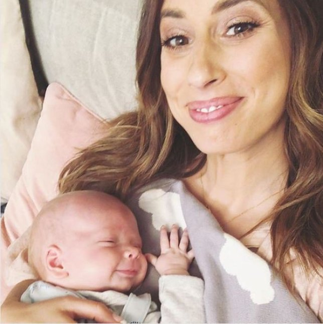 Stacey Solomon got 'mum guilt' after giving birth to Rex
