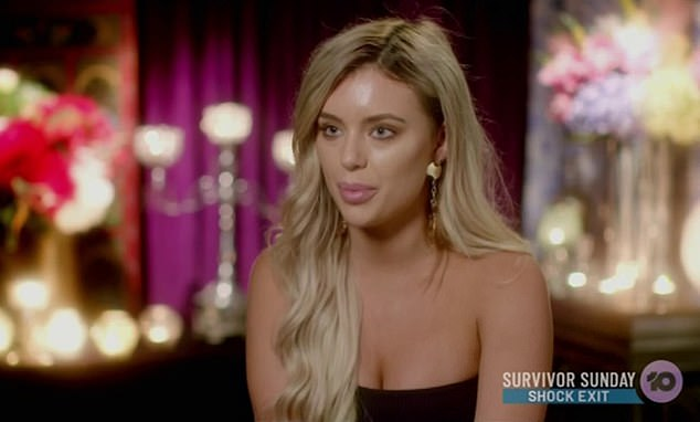 Revealed: The bizarre reason why Monique Morley (pictured) called Matt Agnew the C-word on The Bachelor - as she insists the phrase was 'taken completely out of context'