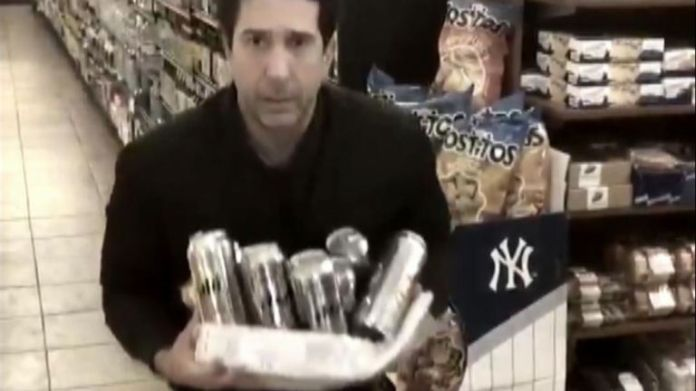 Actor David Schwimmer posted the perfect response to a viral story identifying him as a suspect in a Blackpool restaurant theft.