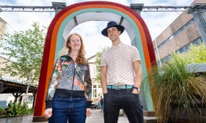 'The boundaries are dissolving' … director Annie Rigby and Maxïmo Park singer Paul Smith, who have collaborated on Hold On Let Go.