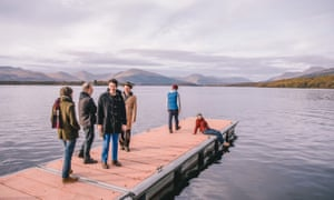 Not the Med … Belle and Sebastian in Balmaha, Scotland.